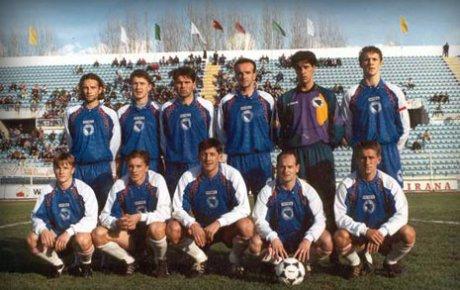 Prva zvanična utakmica reprezentacije BiH