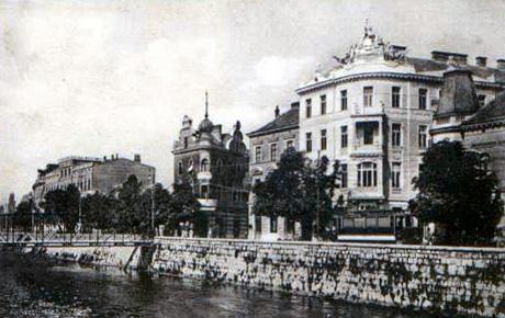 Prvo probno paljenje električne rasvjete u Sarajevu