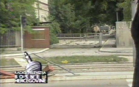 Blokirane kasarne JNA u Sarajevu
