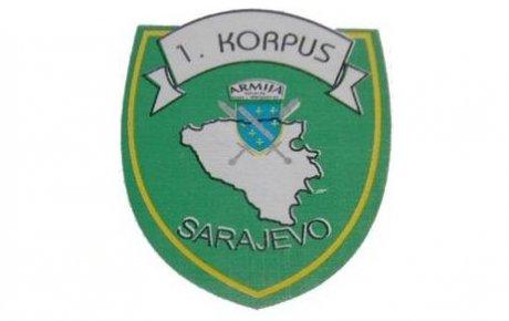 Formiran Prvi korpus Armije RBiH
