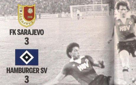 FK Sarajevo - Hamburger SV (KUP UEFA)