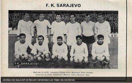 "FK ""Sarajevo"" ugostilo ""Manchester United"""