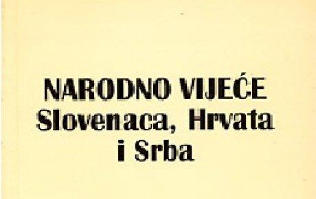 Austro - Ugarska predala vlast Narodnom vijeću SHS za BiH