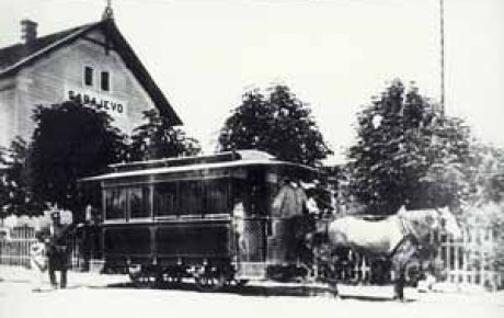 Prvi tramvaj u Sarajevu