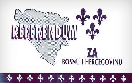 Održan referendum o nezavisnoj Bosni i Herecegovini