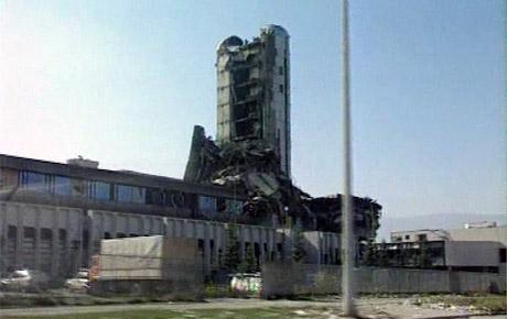 """Prvi put zapaljena zgrada """"Oslobođenja"""""""